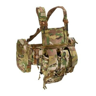Tasmanian Tiger Combi Rig Qr Laser Cut Molle Chest Rig With Pouch Kit 7135 7611
