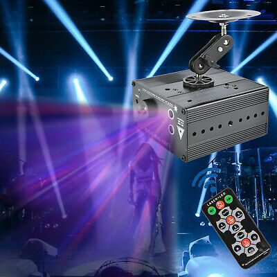 48 Patterns Laser Stage Light LED RGB Party DJ Disco Dance Lighting Projector