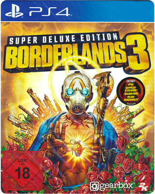 Borderlands 3 Super Deluxe Steelbook Edition (PS4) (NEU) (UNCUT) (Blitzversand)