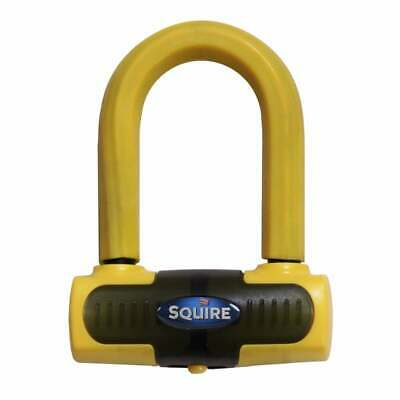 Squire Eiger Brake Disc Lock Yellow Motorcycle Scooter Bike Security Sold Secure