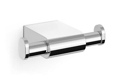 Zack Atore Polished Stainless Steel Double Towel Hook 40458