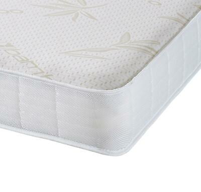 Capital Beds Bamboo Memory Foam Spring Mattress Springs Shorty, 2'6, 3ft,4ft,4'6