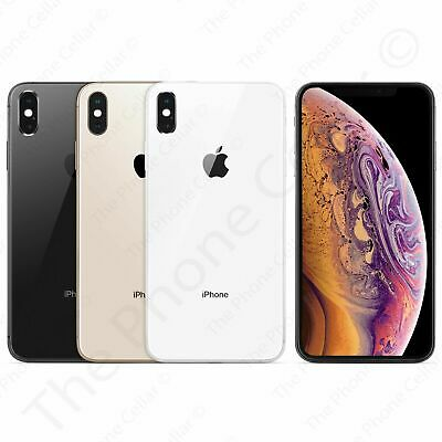 AT&T Locked Apple iPhone XS 64GB 256GB Silver Gray Gold GSM A1920 Smartphone