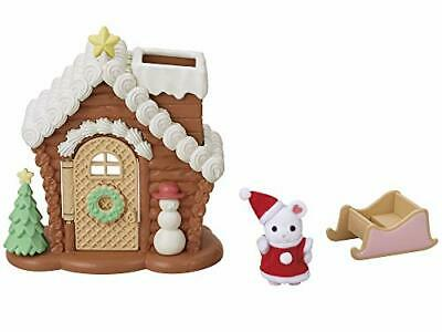 Sylvanian Families Calico Christmas BABY SANTA SWEETS HOUSE JP Limited
