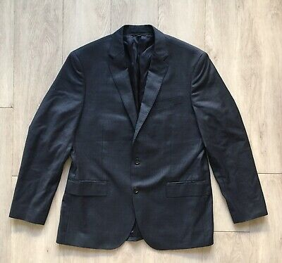 New J.CREW Crosby Suit Jacket Italian Worsted Wool Gray-Blue 42R C3270 $425
