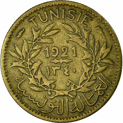 [#457652] Coin, Tunisia, Anonymous, 50 Centimes, 1921, Paris, EF(40-45)