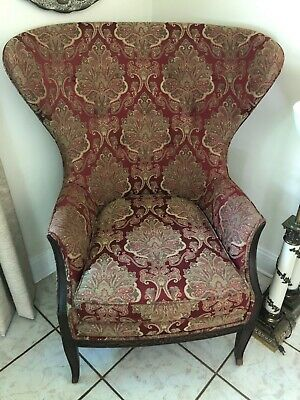 1930's  Butterfly Wing Back Chair