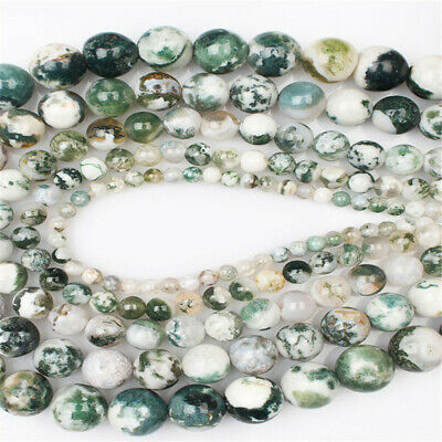 Nature Aquatic Agate Beads Diy Accessories Styles Healing Hole Jewelry Making