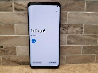 Samsung Galaxy S9 64GB G960U Factory Unlocked T-Mobile Sprint AT&T Verizon