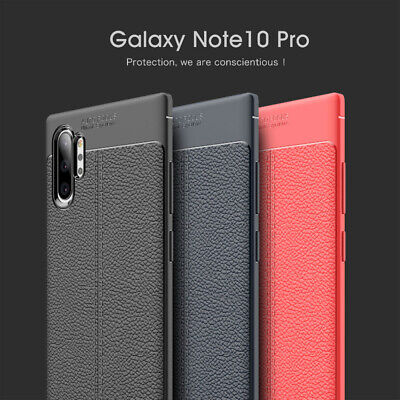 For Samsung Galaxy Note 10 10 Plus Shockproof Ultra Slim Soft Rubber Case Cover