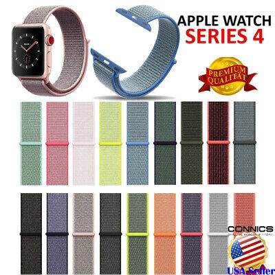 Replacement Sport Loop Nylon Woven Band for Apple Watch Series 5 4 3 2 40mm/44mm