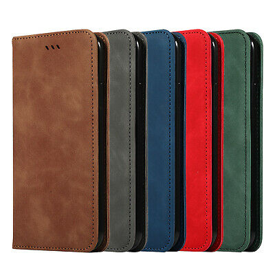 For Samsung Galaxy Note 10 Plus Magnetic Leather Wallet Case Card Pocket Cover