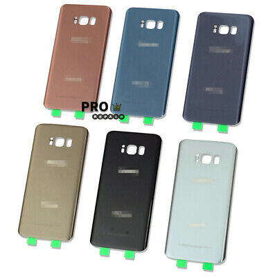 OEM Samsung Galaxy S8 / S8+ Battery Back Door Glass Housing Cover Replacement