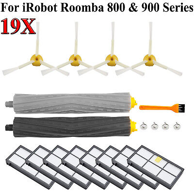 For iRobot Roomba Filters 800/&900 Series Part 805 890 980 Vacuum Brush 1//24 Pcs