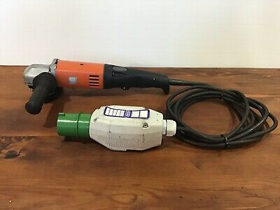 "Fein High Frequency Angle Grinder MSF 843-1c, 200v, 125mm / 5"". Made in Germany"