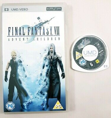 Final Fantasy VII Advent Children Psp UMD Movie Sony PlayStation Portable