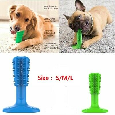 Bristly Brushing Stick World's Effective Toothbrush for Dogs Pets Oral Care S-L