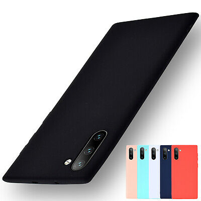 For Samsung Note 10 + J4 J6 Plus Luxury Ultra Thin Slim Silicone TPU Soft Case