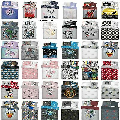 Disney Character Duvet Cover Set With Pillowcase Quilt Cover Bedding Set