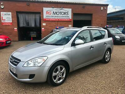 2008 Kia Ceed GS 1.6 CRDi ( 88bhp ) Silver 5dr SW Estate, **ANY PX WELCOME**
