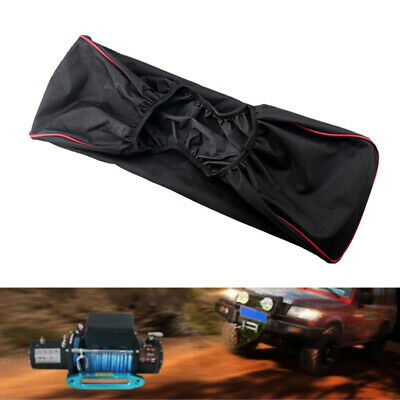 Winch Dust Cover Up To 17500lbs Waterproof Heavy Duty Trailer Driver Recovery
