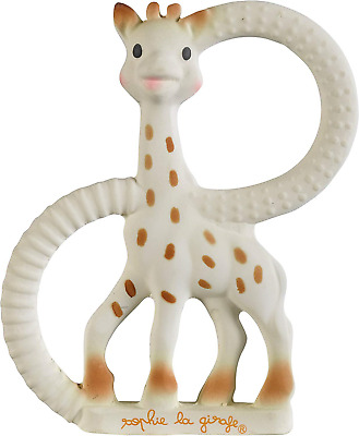 Sophie The Giraffe So Pure Teething Ring Very Soft Version White