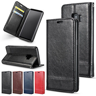 For Samsung Galaxy Note 10 Plus Flip Leather Card Pocket Wallet Stand Case Cover