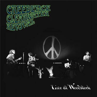 Creedence Clearwater Revival Live at Woodstock CD NEW