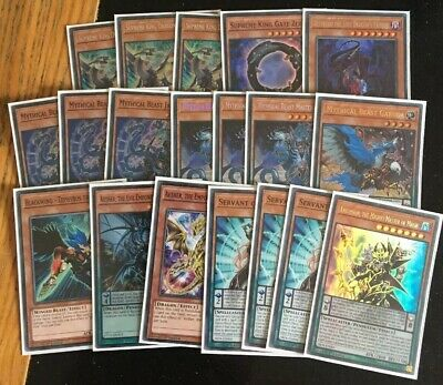 High Rarity Endymion Magician Guardragon Mythical Beast Deck