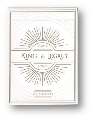 King and Legacy: Gold Edition Marked Playing Cards Poker Playing Cards