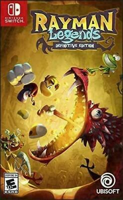 Rayman Legends Definitive Edition - Nintendo Interrupteur Tout Neuf