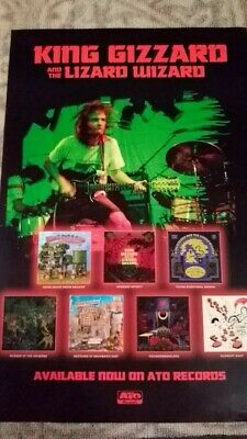 King Gizzard and the Lizard Wizard [Promo Poster] 11 x 17