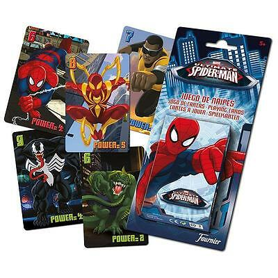 Original Ultimate Spider-Man - Baraja Cartas Coleccion Heraclio Fournier