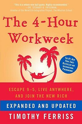 The 4-Hour Workweek  by Timothy Ferriss   ⚜⚜   [P-D-F]  ⚜⚜
