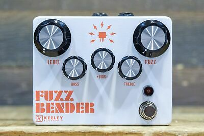 Keeley Electronics Fuzz Bender Silicon and Germanium Hybrid Fuzz Effect Pedal