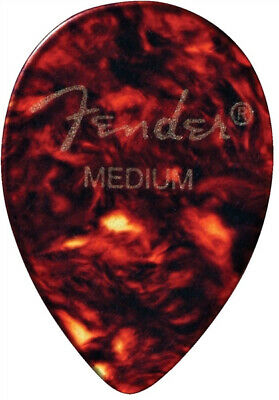 Fender 7358 Jazz Guitar Picks, Tortoise Shell, Medium