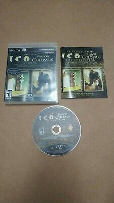 Ico and the Shadow of the Colossus Collection PS3