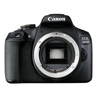 Canon EOS 2000D / Rebel T7 Digital SLR Camera Body 24.1MP Wi-Fi Brand New