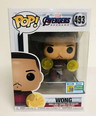 Funko POP Wong SDCC 2019 Avengers End Game Official Sticker #493