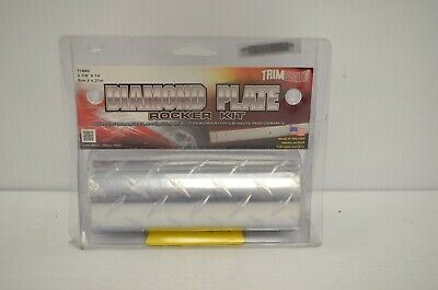 (70503) Diamond Plate Running Board Sticker