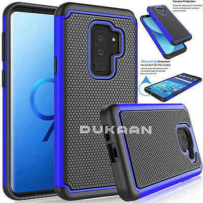 Hybrid Armor Shockproof Rugged Bumper Case For Samsung Galaxy S7 S8 S9 S10 S20