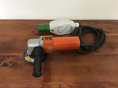 "Fein High Frequency Angle Grinder MSF 842-2c, 200v, 125mm / 5"". Made in Germany"