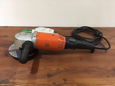 "Fein High Frequency Angle Grinder MSfo 869-1c, 2700w, 180mm/7"" Made in Germany"