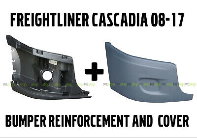 2008-2015 Freightliner Cascadia Bumper End Cap Reinforcement Right Side w//o Hole