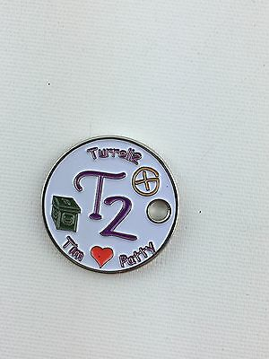 Pathtag Geocoin Geocache Tag #14064 Turrell2's First By: turrell2