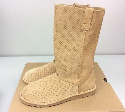 e87a6e41b5e UGG CLASSIC TALL Unlined Perf Tawny Perfect For Layering Womens ...
