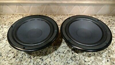 "Pair Yamaha 8"" Woofers NS-A738 110039 310038 NS-A638 Great Condition"