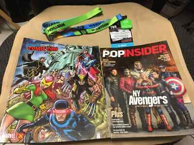 NYCC 2019 New York Comic Con 4 Day Pass Javits Center NYC Badge Ticket IN HAND