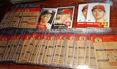 Restocked!!! Topps Living Set Pick Card 1-100 Sp (1953) - U-Pick Free Shipping!