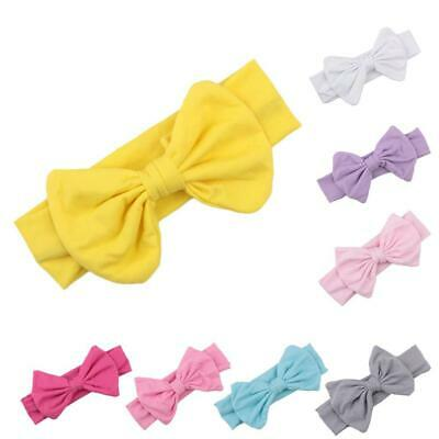Kids Bow Knot Wrap Headband Infant Headwear Accessories Band Stretch-Turban Knot